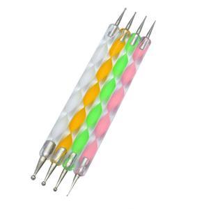 قلم طراحی ناخن مدل داتینگ مجموعه 4 عددی