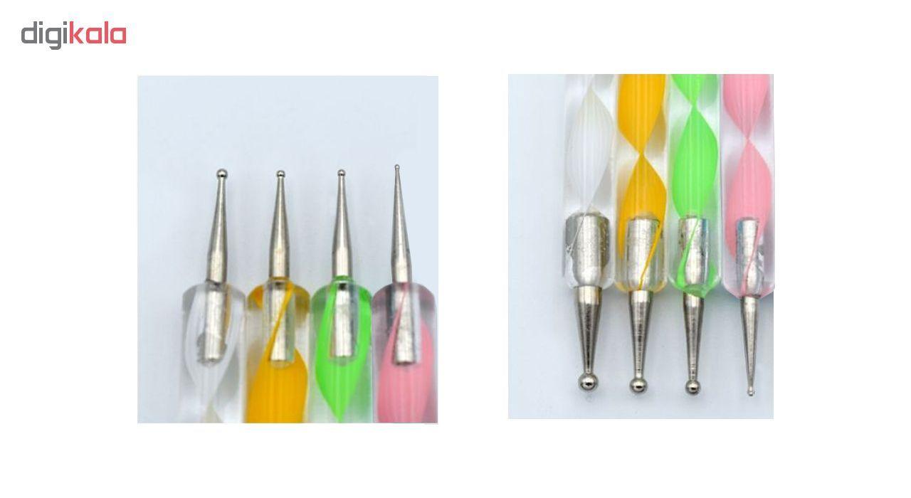 قلم طراحی ناخن مدل داتینگ مجموعه 4 عددی main 1 1