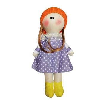 عروسک روسی طرح کلاه منگوله قرمز کد MRK15 ارتفاع 34 سانتی متر