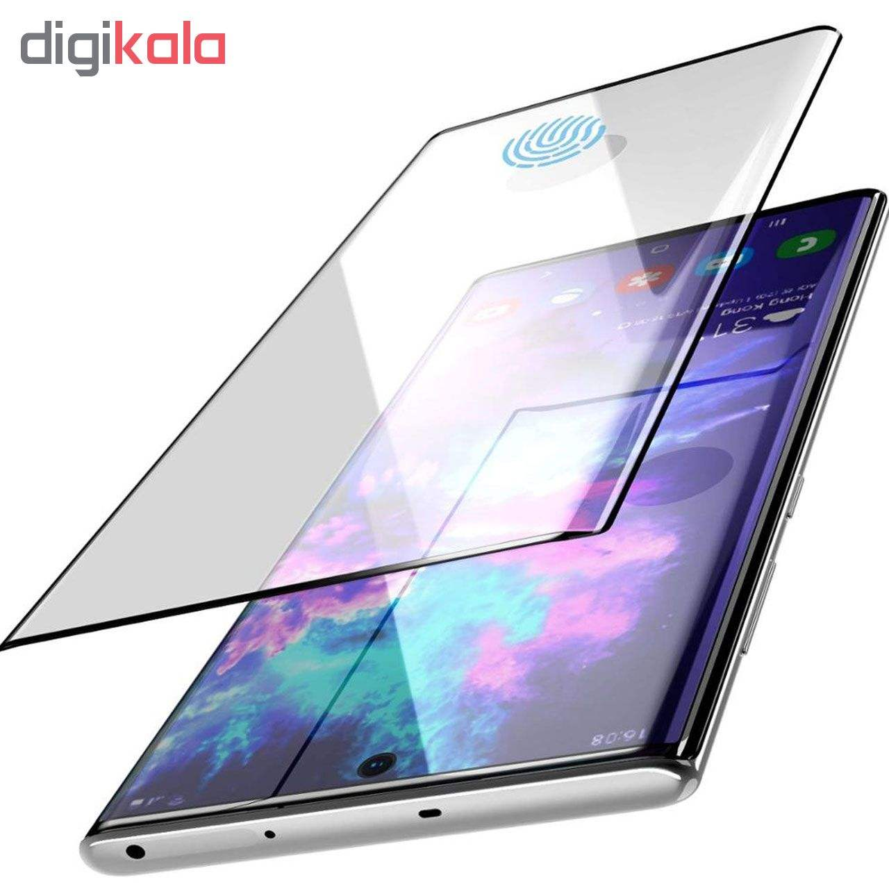 محافظ صفحه نمایش تراستکتور مدل GSS مناسب برای گوشی موبایل سامسونگ Galaxy Note 10 Plus بسته 5 عددی main 1 4