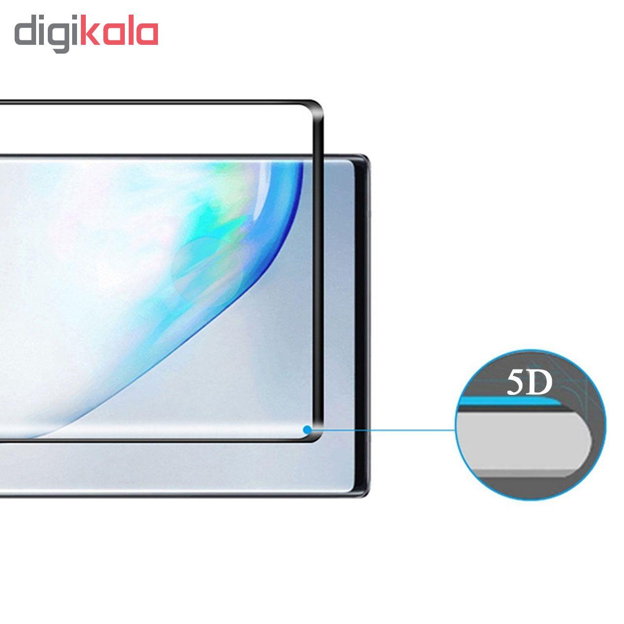محافظ صفحه نمایش تراستکتور مدل GSS مناسب برای گوشی موبایل سامسونگ Galaxy Note 10 Plus بسته 5 عددی main 1 6