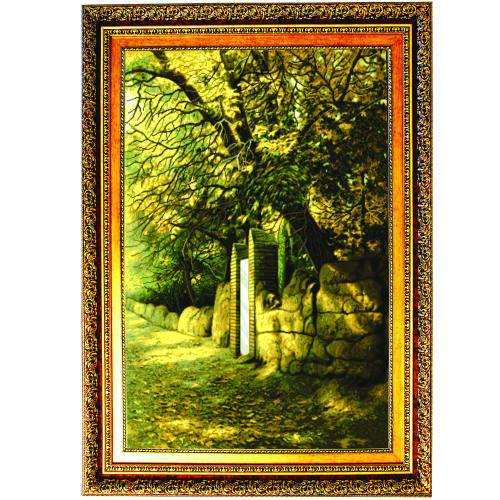 تابلو طرح کوچه باغ کد AM1887