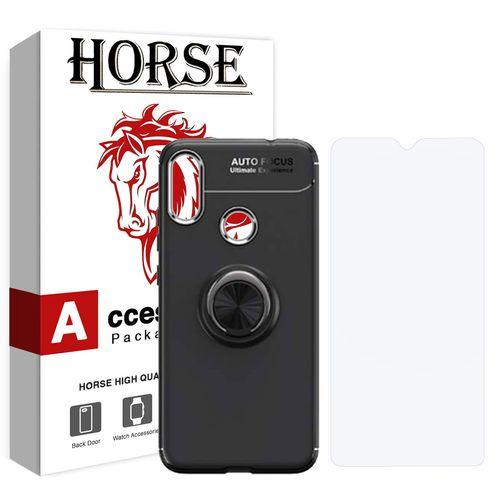 کاور هورس مدل CRH مناسب برای گوشی موبایل شیائومی Redmi Note 7 / Redmi Note 7 Pro به همراه محافظ صفحه نمایش