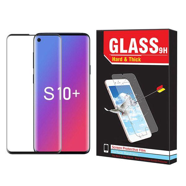 محافظ صفحه نمایش Hard and thick مدل F-001 مناسب برای گوشی موبایل سامسونگ Galaxy S10 plus