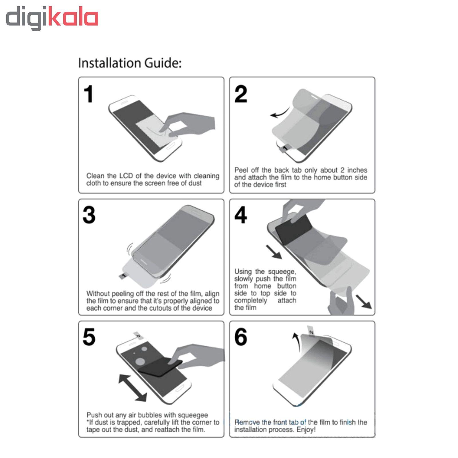 محافظ صفحه نمایش Hard and thick مدل F-001 مناسب برای گوشی موبایل سامسونگ Galaxy S10 plus main 1 7