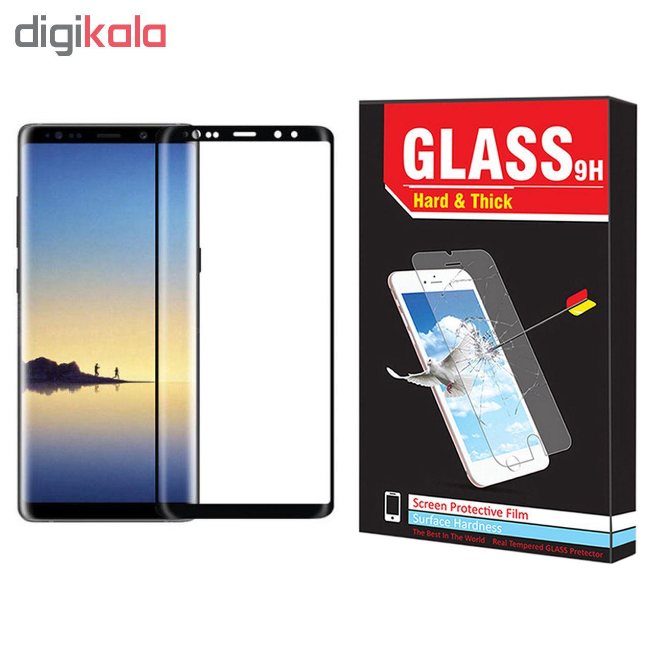 محافظ صفحه نمایش Hard and thick مدل F-001 مناسب برای گوشی موبایل سامسونگ Galaxy Note 8 main 1 1