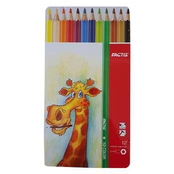 مداد رنگی 12 رنگ فکتیس مدل RGB4