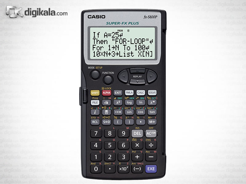 ماشین حساب کاسیو FX-5800  Casio FX-5800P Calculator