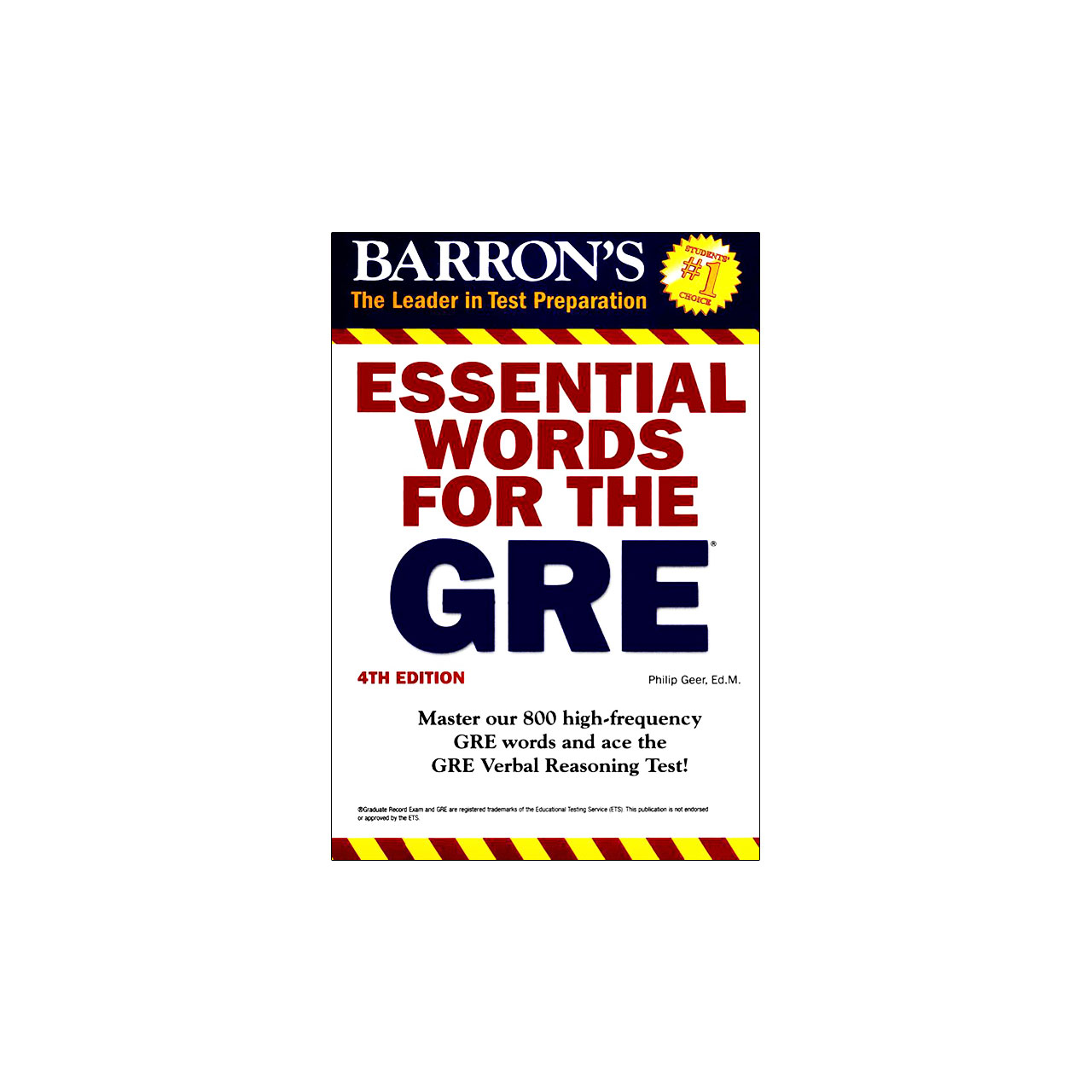 خرید                      کتاب Essential words for the GRE اثر Philip Geer انتشارات Barrons