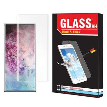 محافظ صفحه نمایش یووی لایت Hard and thick مدل U-01 مناسب برای گوشی موبایل سامسونگ Galaxy Note 10