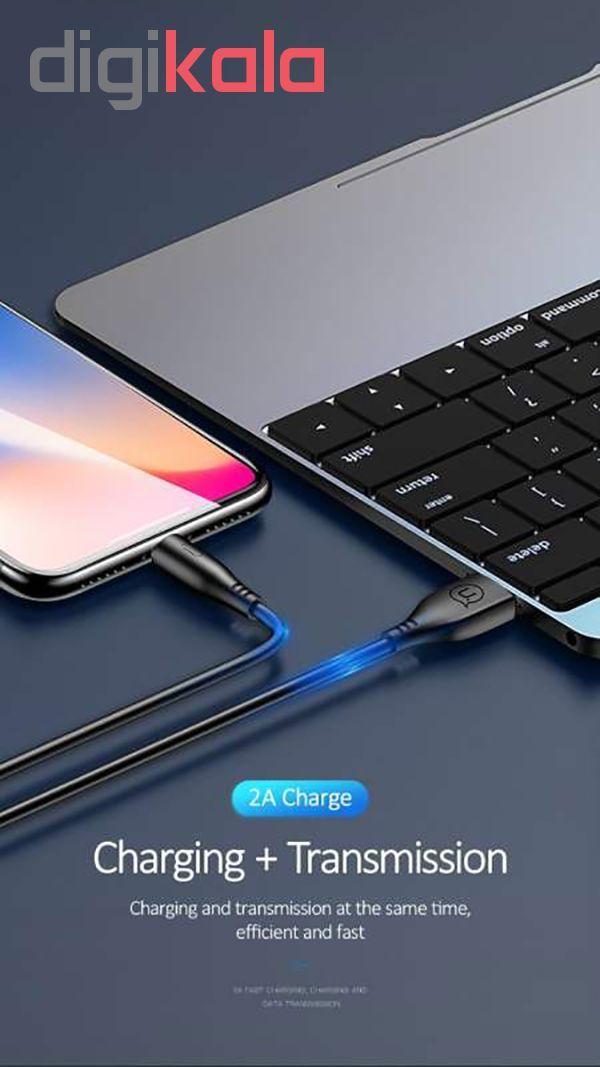 کابل تبدیل USB به لایتنینگ یوسمز مدل U18 طول 1 متر main 1 6