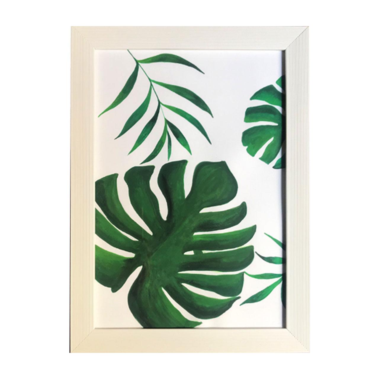 خرید                      تابلو نقاشی آبرنگ طرح هاوایی