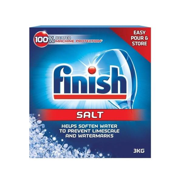 نمک ماشین ظرفشویی فینیش مدل Easy Pour & Store وزن 3000 گرم