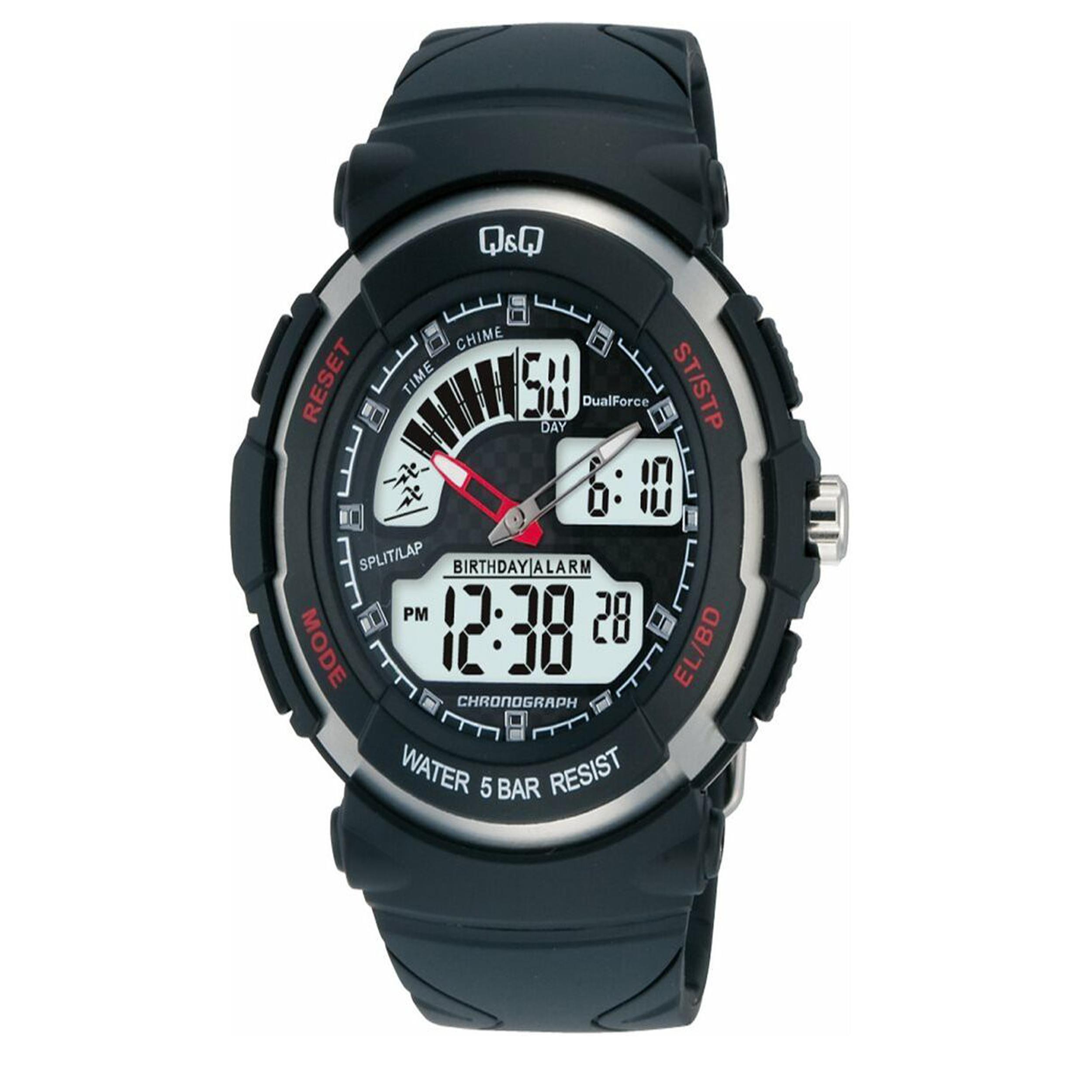 ساعت مچی دیجیتال مردانه کیو اند کیو کد M012J002Y
