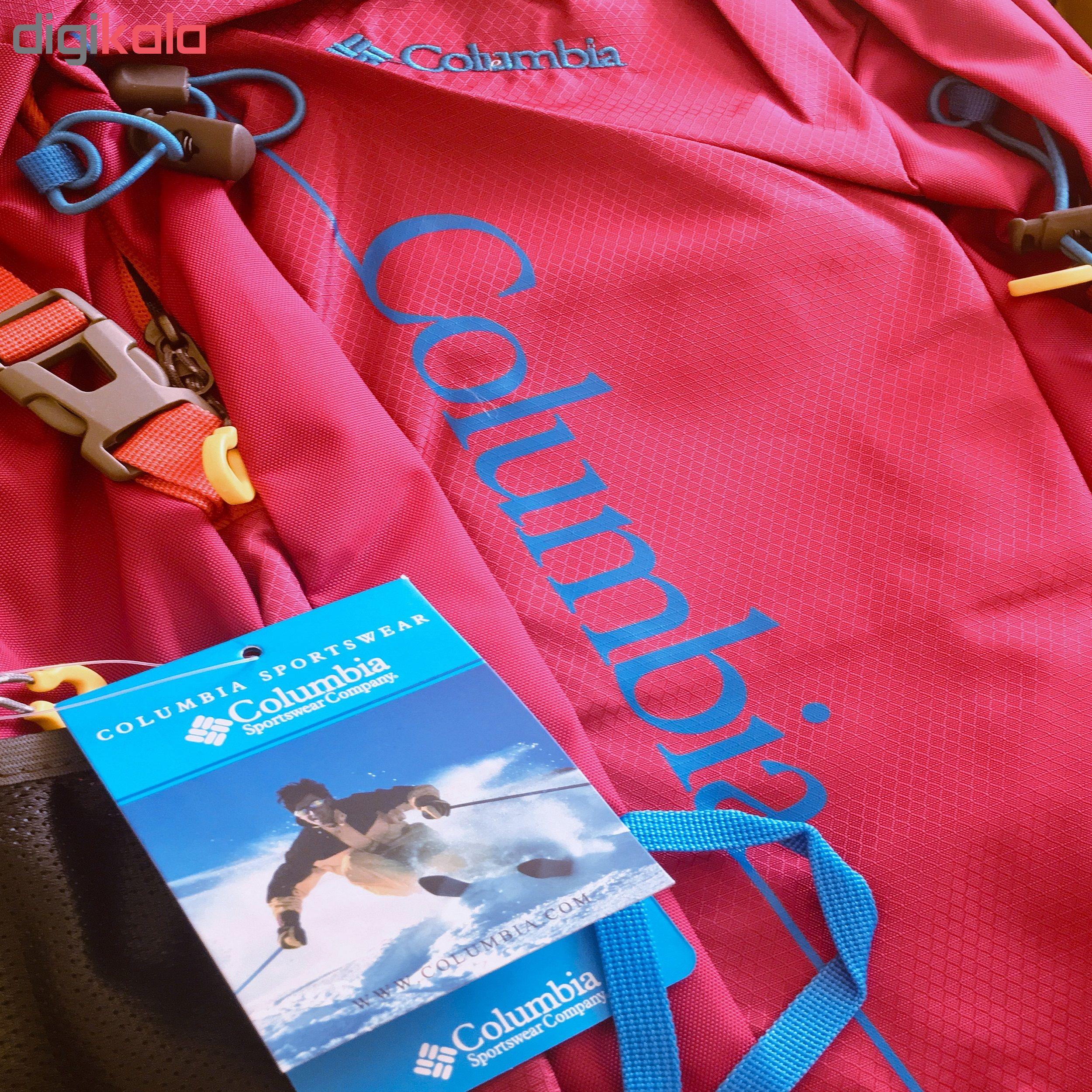 کوله پشتی کوهنوردی 30 لیتری کلمبیا مدل TRAVEL BACKPACK C2