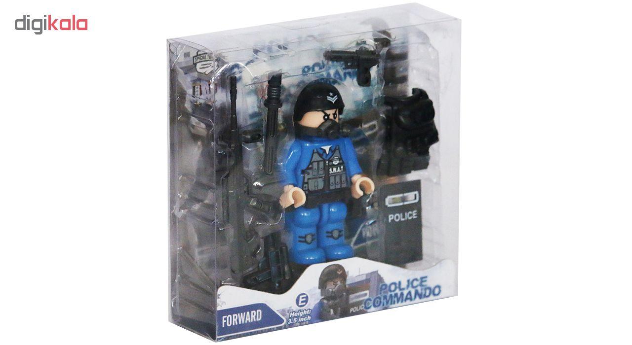 اسباب بازی جنگی دای طرح Police Commando مدل 26-E