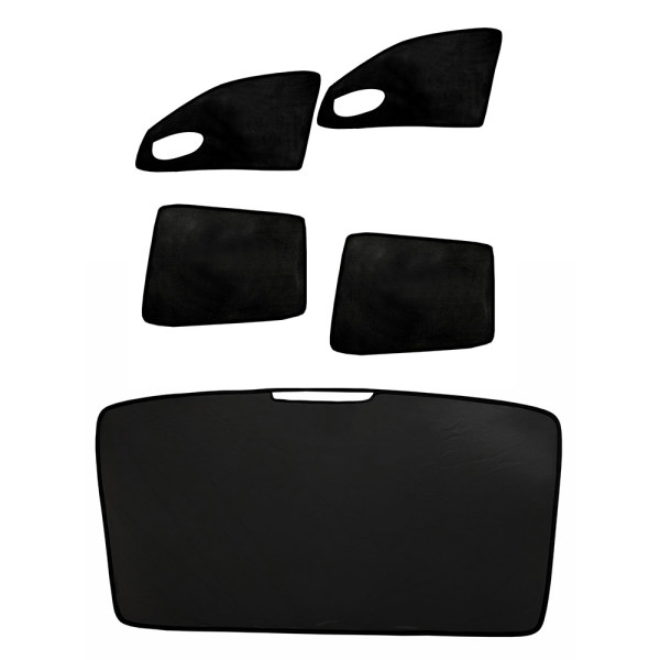 آفتاب گیر شیشه خودرو مدل SM1 مناسب برای سمند مجموعه 5 عددی