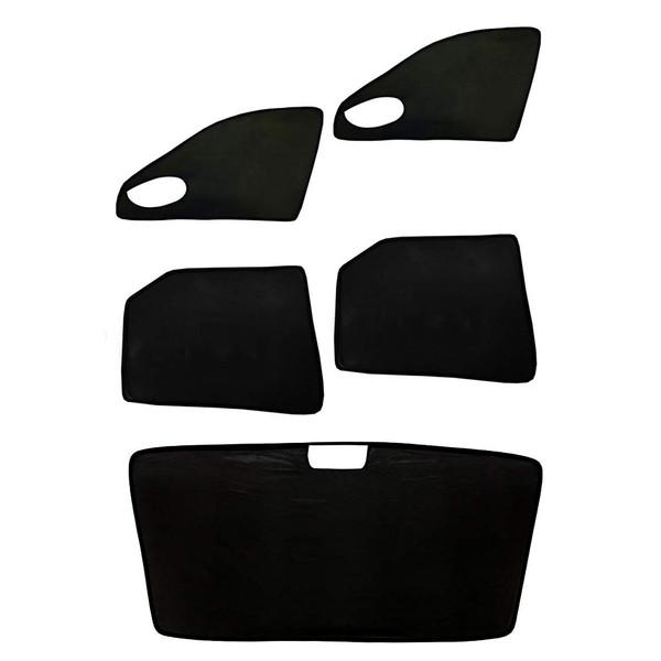 آفتاب گیر شیشه خودرو مدل PG1 مناسب برای پژو 405 مجموعه 5 عددی