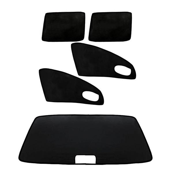 آفتاب گیر شیشه خودرو مدل PR1 مناسب برای پراید مجموعه 5 عددی