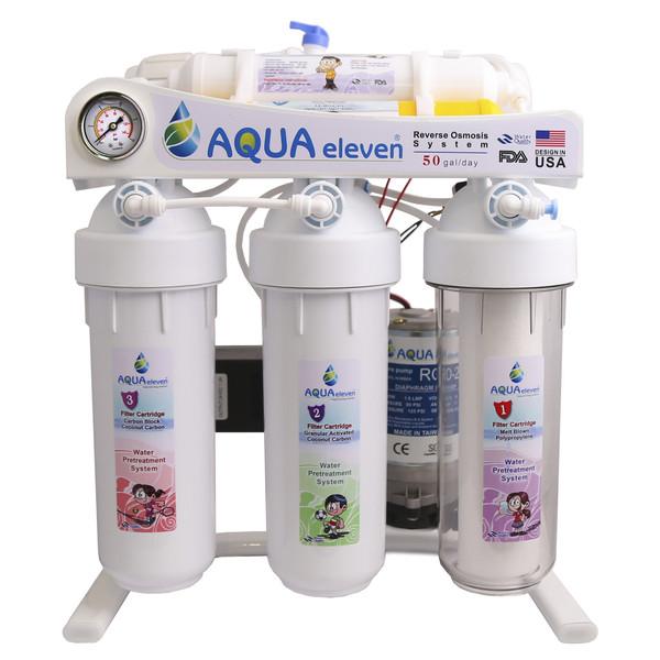 دستگاه تصفیه کننده آب خانگی آکواالون مدل AQUARO-50