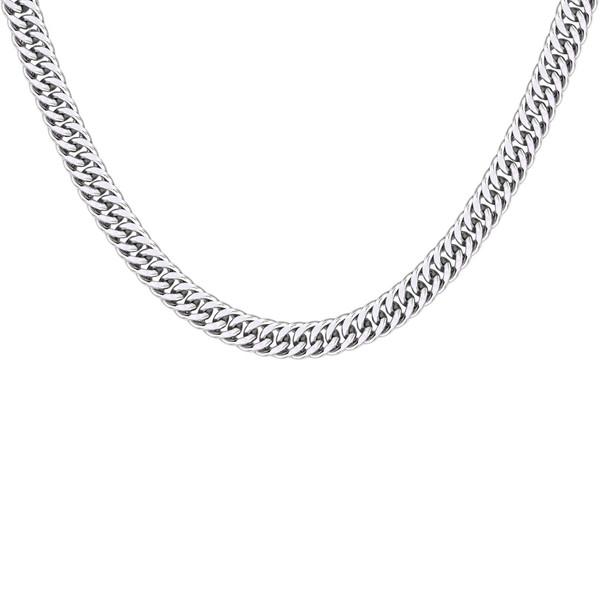 گردنبند نقره مردانه اقلیمه کد GN368