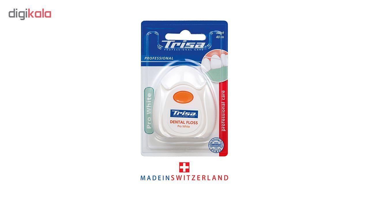 نخ دندان تریزا سری Professional مدل Pro White main 1 1