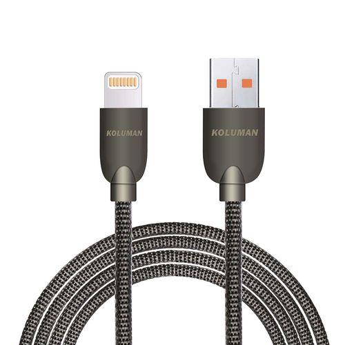 کابل تبدیل USB به لایتنینگ کلومن مدل KD-17 طول 1 متر