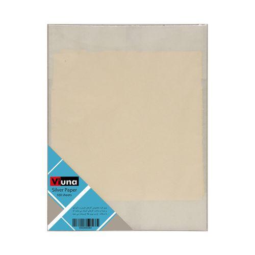 ورق نقره ویونا کد S100 بسته 100 عددی