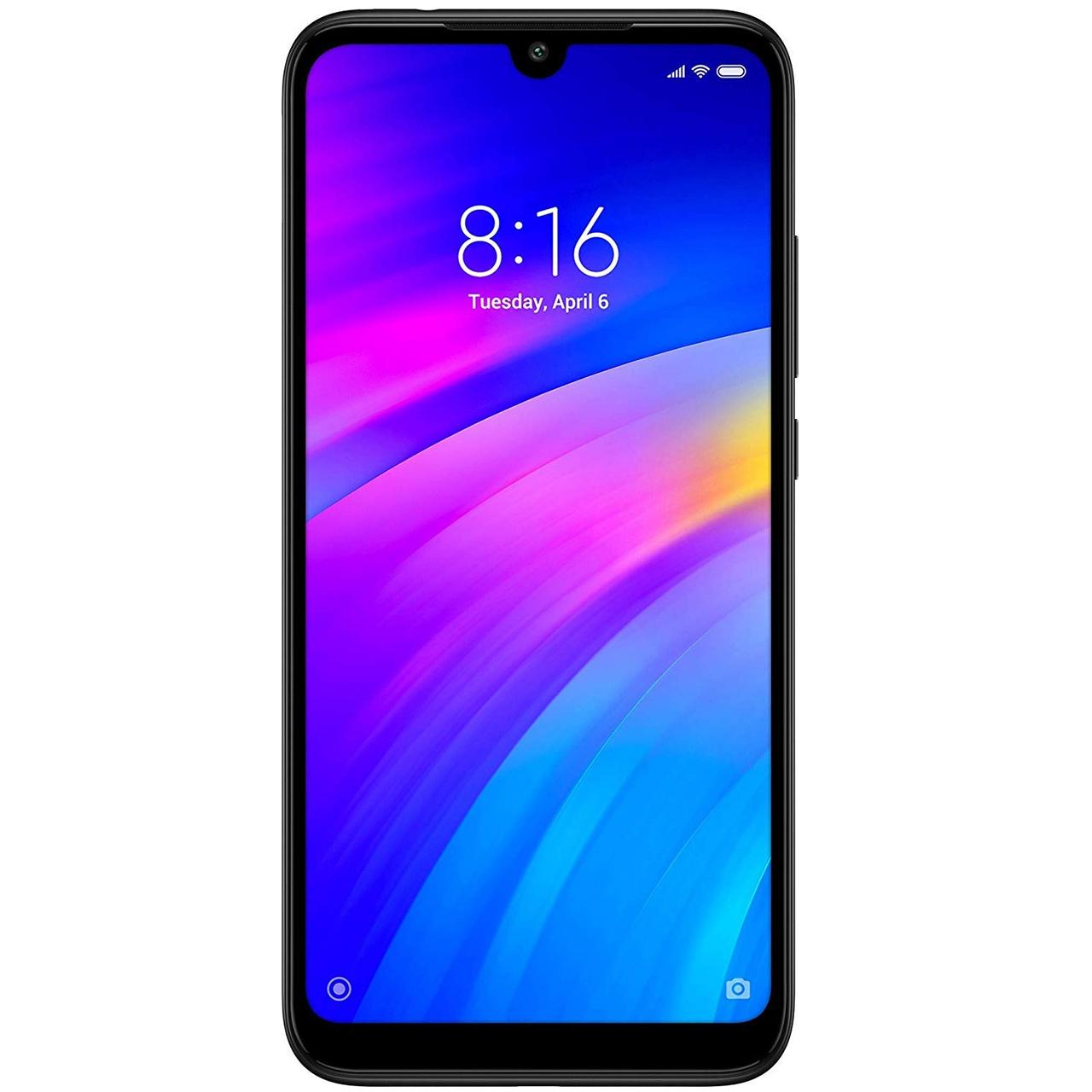گوشی موبایل شیائومی مدل Redmi 7 M1810F6LGدو سیم کارت ظرفیت 32 گیگابایت - با برچسب قیمت مصرف کننده