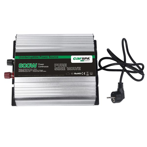 اینورتر شارژر کارسپا مدل CPS 600-12 ظرفیت 600 وات