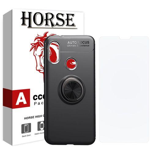 کاور هورس مدل CRH مناسب برای گوشی موبایل شیائومی Mi A2 Lite / Redmi 6 Pro به همراه محافظ صفحه نمایش