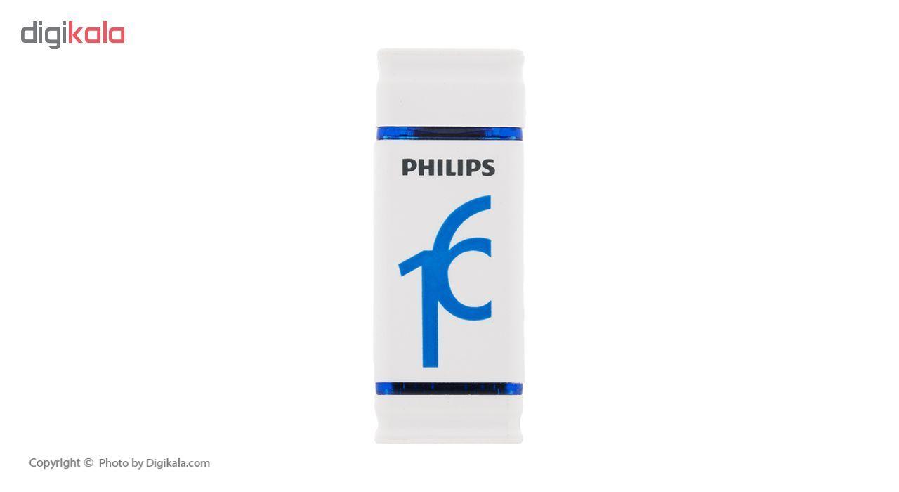 فلش مموری فیلیپس مدل Dueto-FM16FDI28B ظرفیت 16 گیگابایت  Philips Dueto-FM16FDI28B Flash Memory 16G