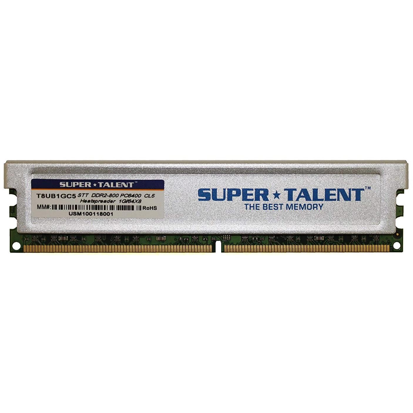 رم دسکتاپ DDR2 تک کاناله 800 مگاهرتز CL6 سوپر تلنت مدل T8UB1GC5 ظرفیت 1 گیگابایت