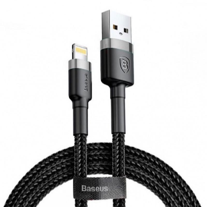کابل تبدیل USB به لایتنینگ باسئوس مدل CAFULE طول 3 متر              ( قیمت و خرید)