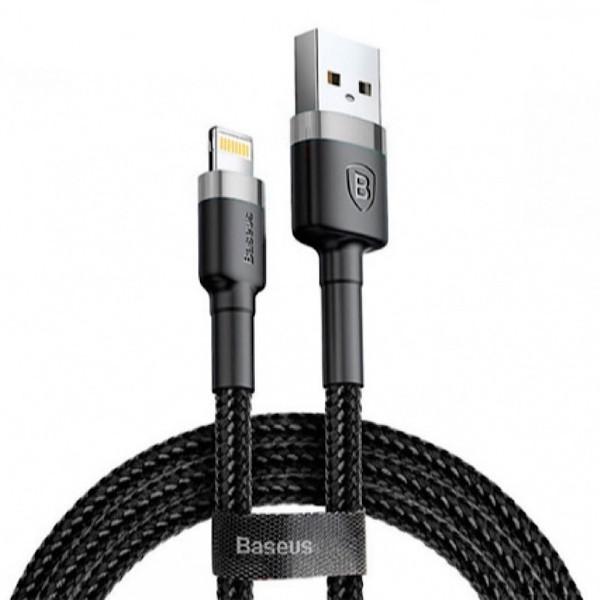 کابل تبدیل USB به لایتنینگ باسئوس مدل CAFULE طول 3 متر