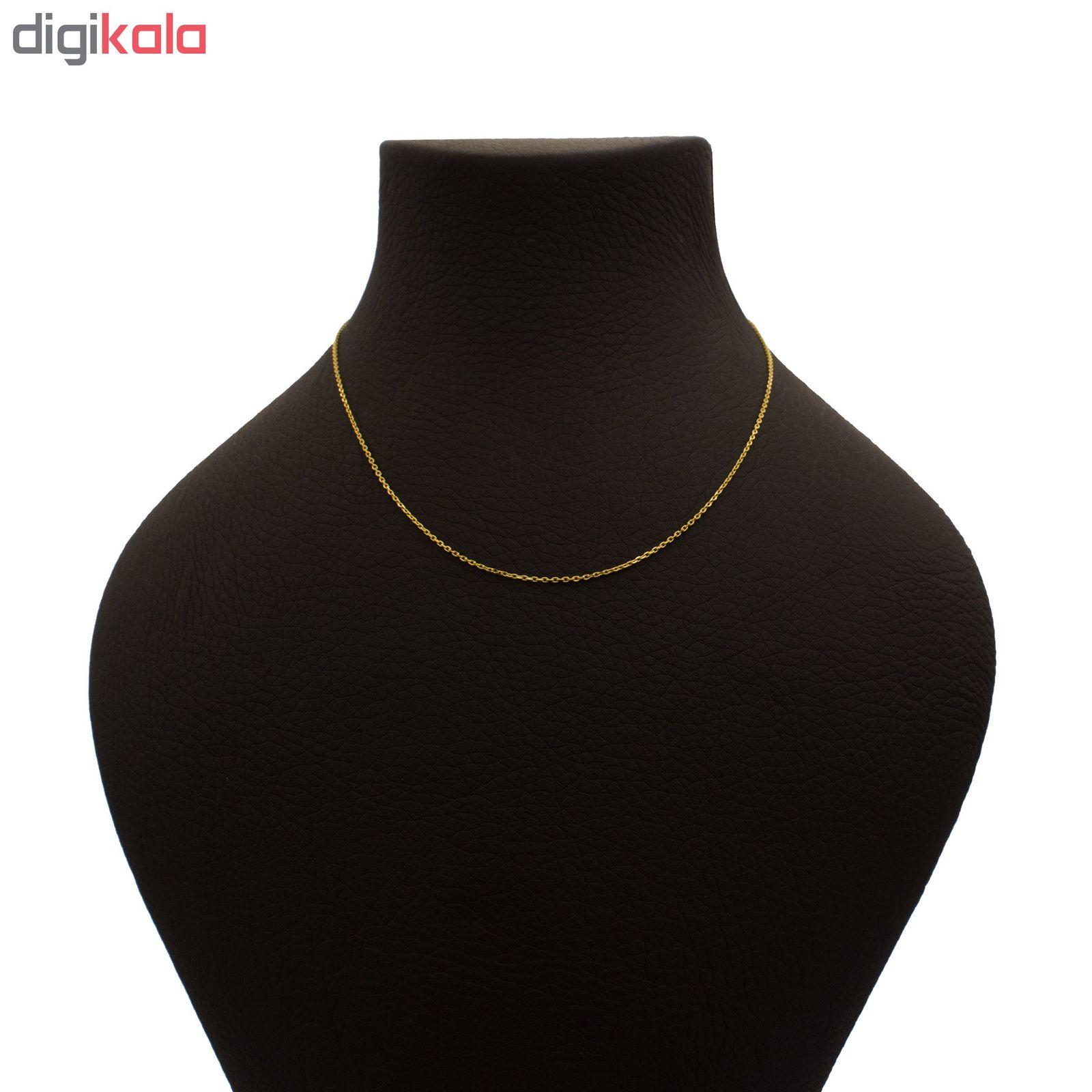 زنجیر طلا 18 عیار زنانه آرشا گالری کد 407A2479 main 1 1