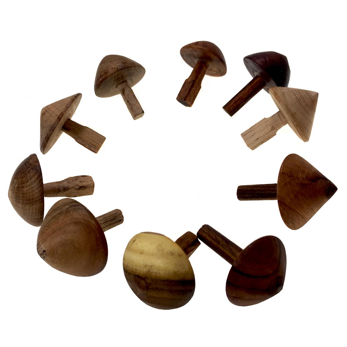 فرفره چوبی مدل cncart056 بسته 10 عددی