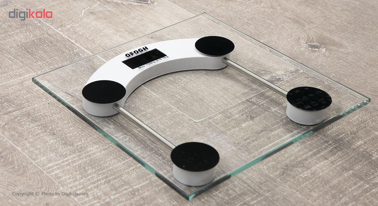 ترازو دیجیتال افق مدل سفید main 1 7