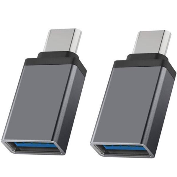 مبدل OTG USB-C مدل tipc-3  بسته دو عددی