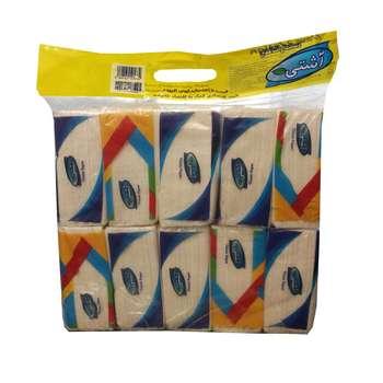 دستمال کاغذی آشتی مدل AD1400 بسته 10 عددی