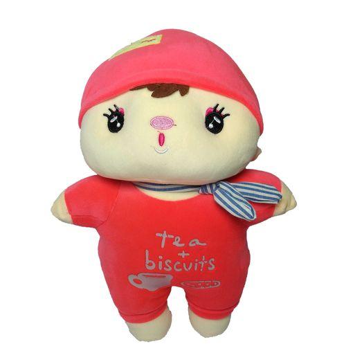 عروسک طرح بچه بیسکویتی کد 508 ارتفاع 38 سانتی متر