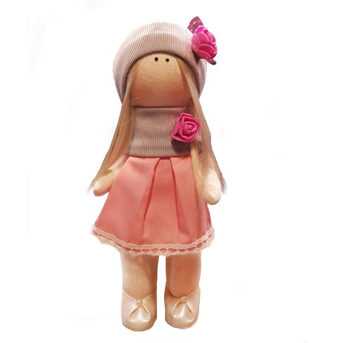 عروسک طرح  روسی خانم گل ارتفاع 30 سانتی متر