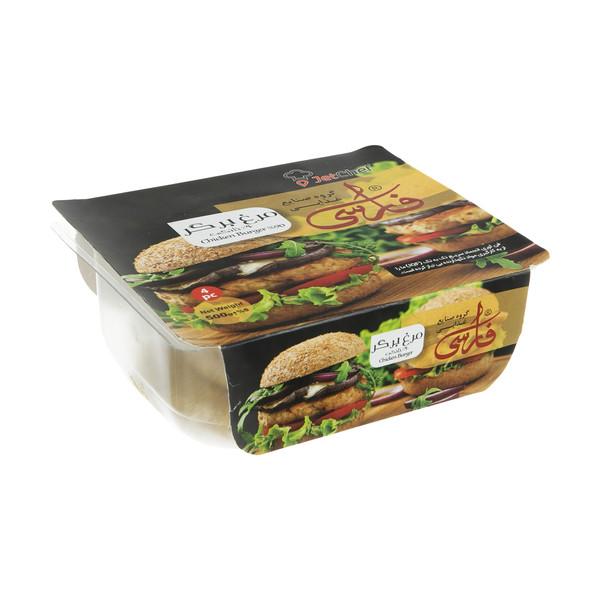 همبرگر مرغ 90 درصد فارسی 4 عددی
