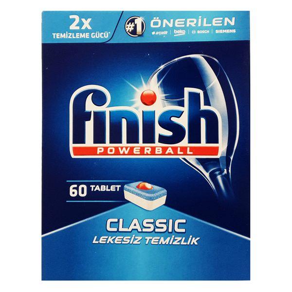 قرص ماشین ظرفشویی فینیش مدل Classic بسته 60 عددی