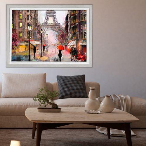 تابلو طرح عاشقانه های پاریس کد 331