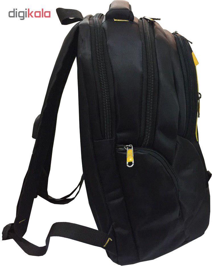 کوله پشتی لپ تاپ اکسون مدل راکی BF43 مناسب برای لپ تاپ تا 15.6 اینجی