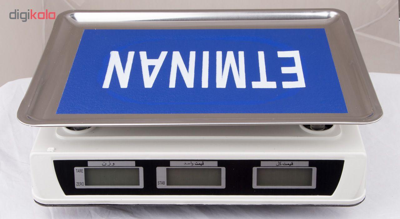 قیمت                      ترازو فروشگاهی اطمینان مدل AS-A907
