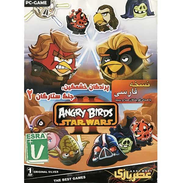 بازی پرندگان خشمگین جنگ ستارگان 2 مخصوص PC