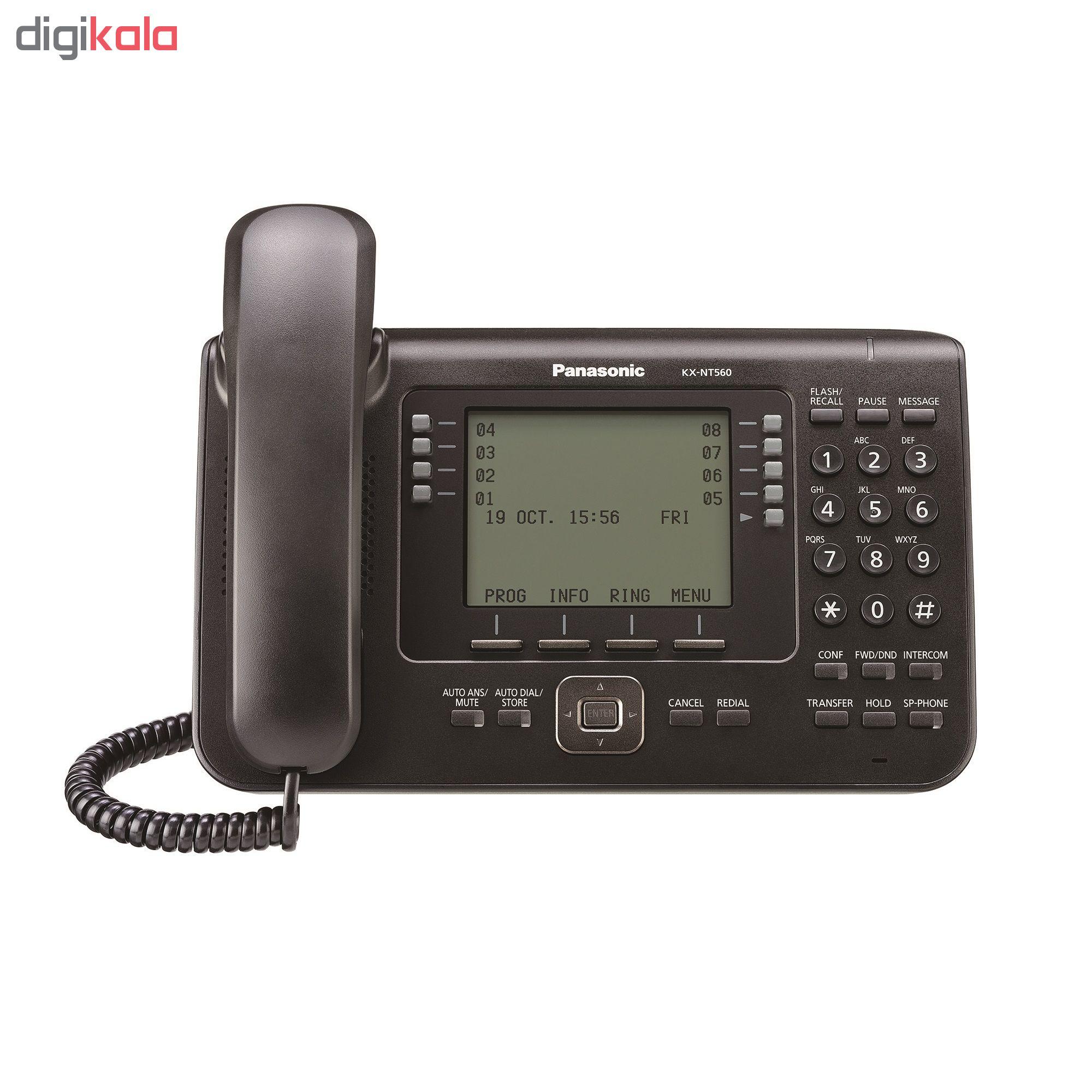 قیمت                      تلفن تحت شبکه پاناسونیک مدل KX-NT560