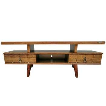 میز تلویزیون کاریزما وود مدل A.KM208